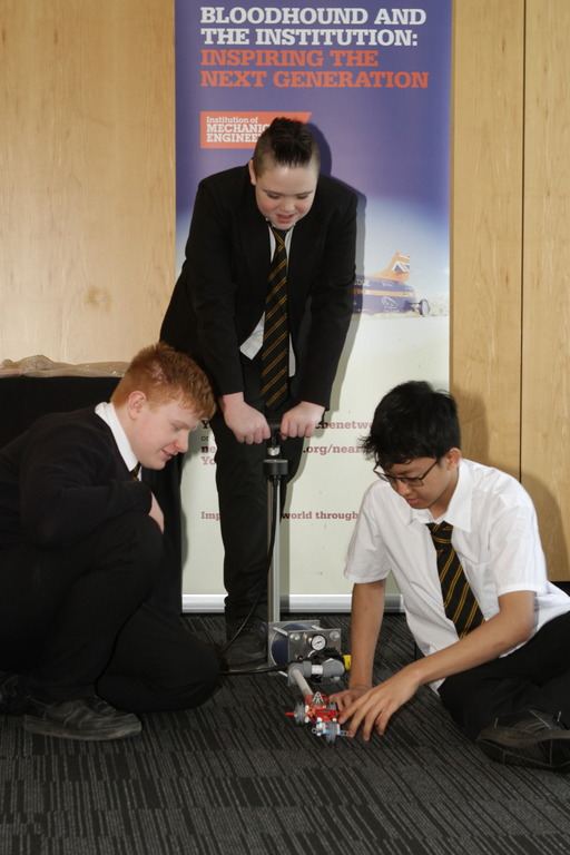 Harry McNeill, Jack Vernon and Winko Kyawoo from Aston Academy
