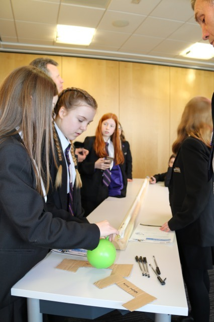 Pupils from around the region got involved in a variety of activities throughout the day at the AMRC KTC.
