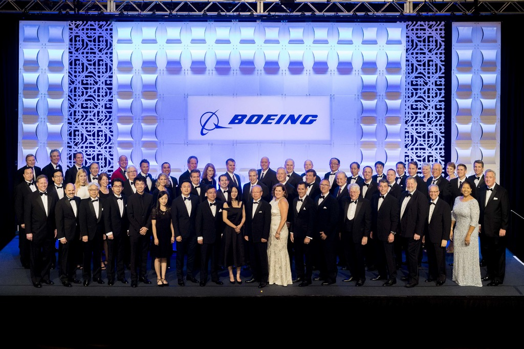 All the winners from the 2017 Boeing Supplier of the Year Awards.