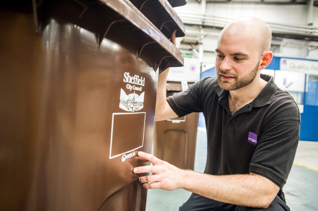 British Plastics Federation Apprentice of the Year, Oliver Marsh.