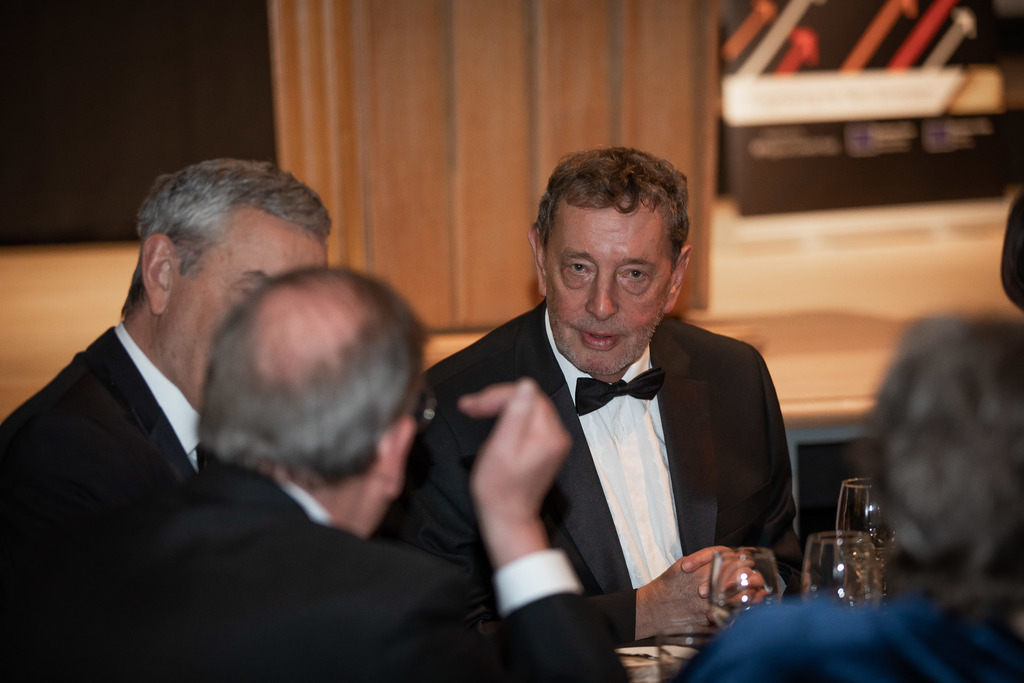 Apprentice champion: Lord Blunkett praised the evening for celebrating the achievements of apprentices.