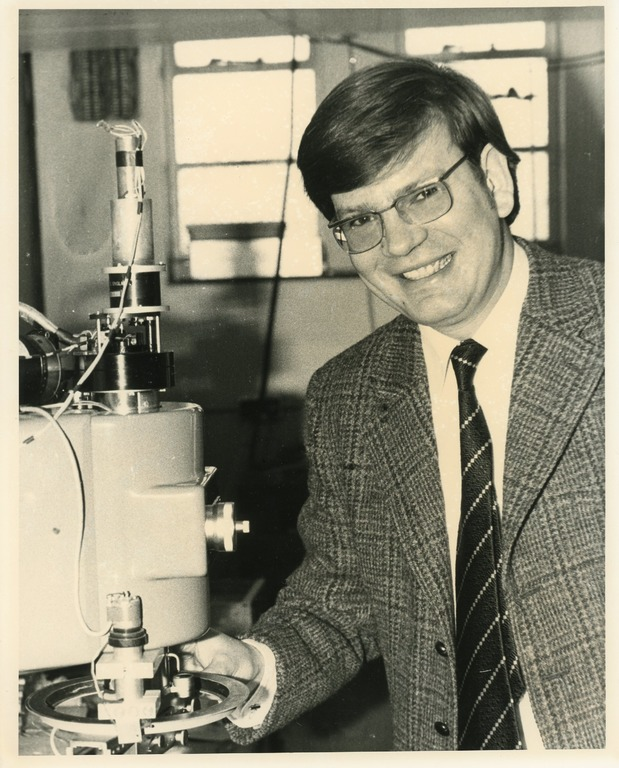 Graham in 1973 as a PhD student.
