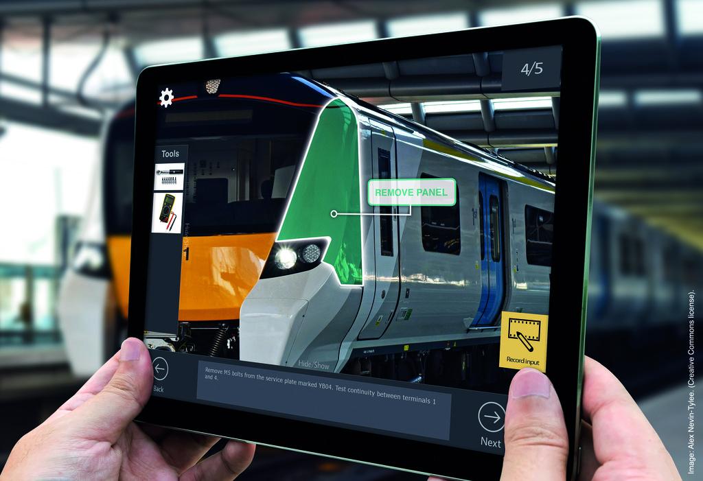Digital work instructions to transform rail maintenance.