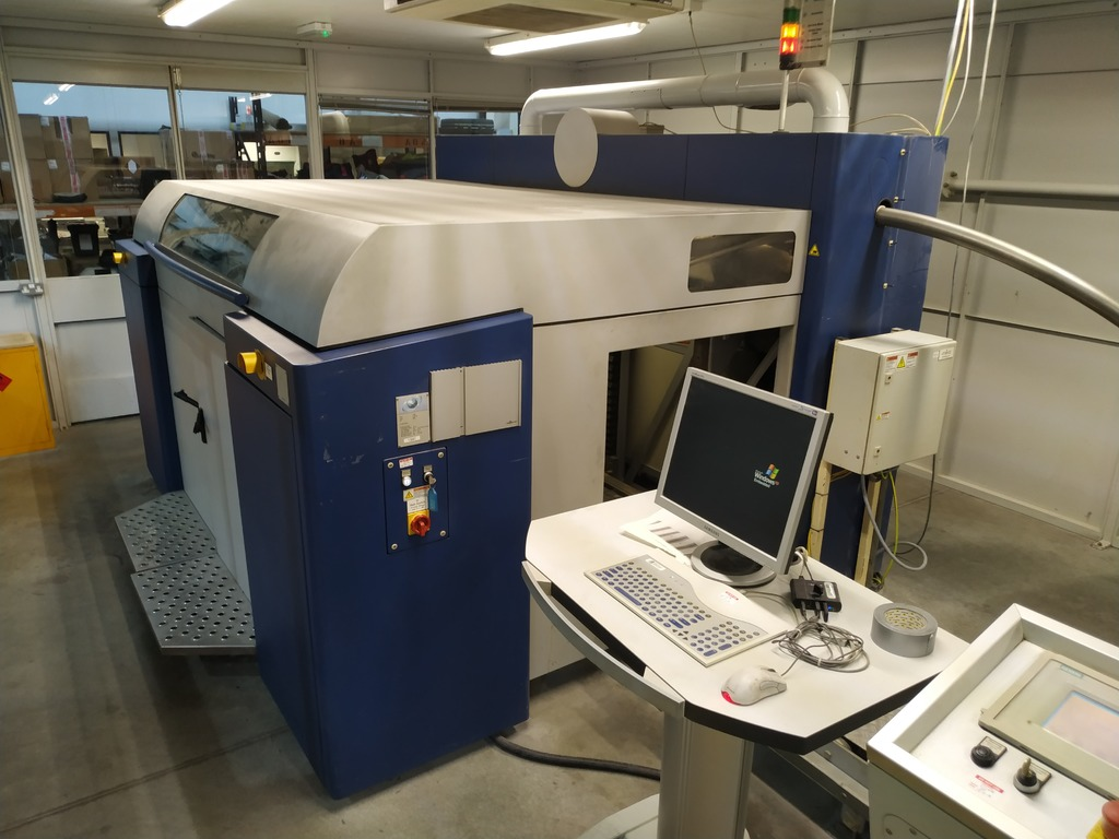 The ExOne S15 machine.
