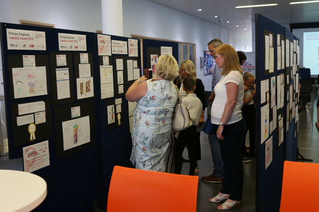 The public were able to view the winning and shortlisted entries for the Leader's Award at a special exhibition held at the AMRC Training Centre.