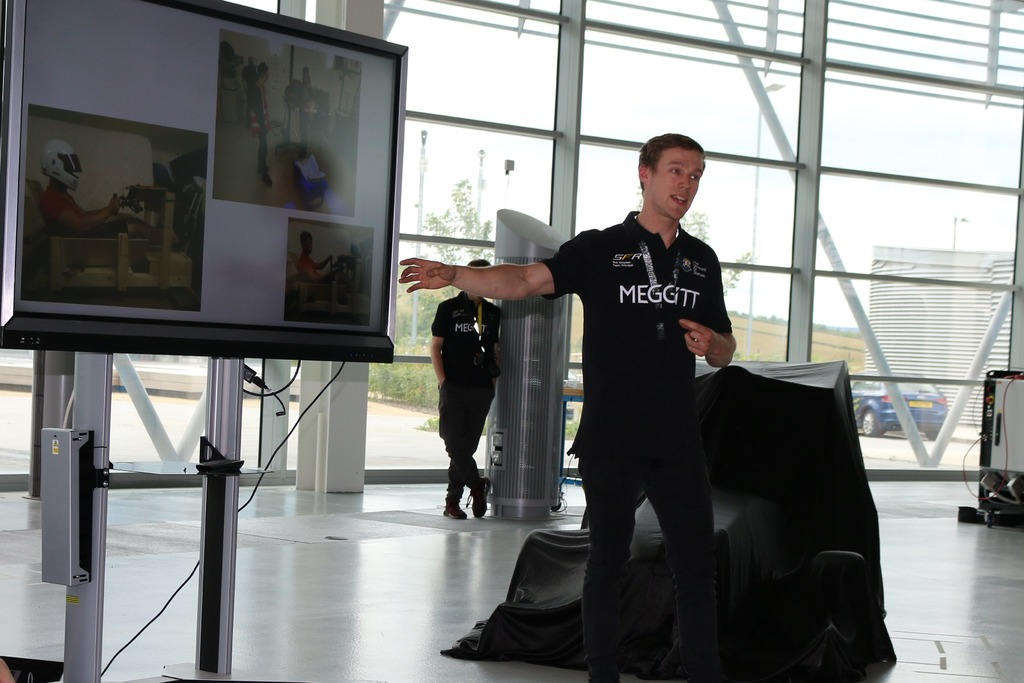 Team principal Rob Newman at the launch event ahead of the grand unveiling.