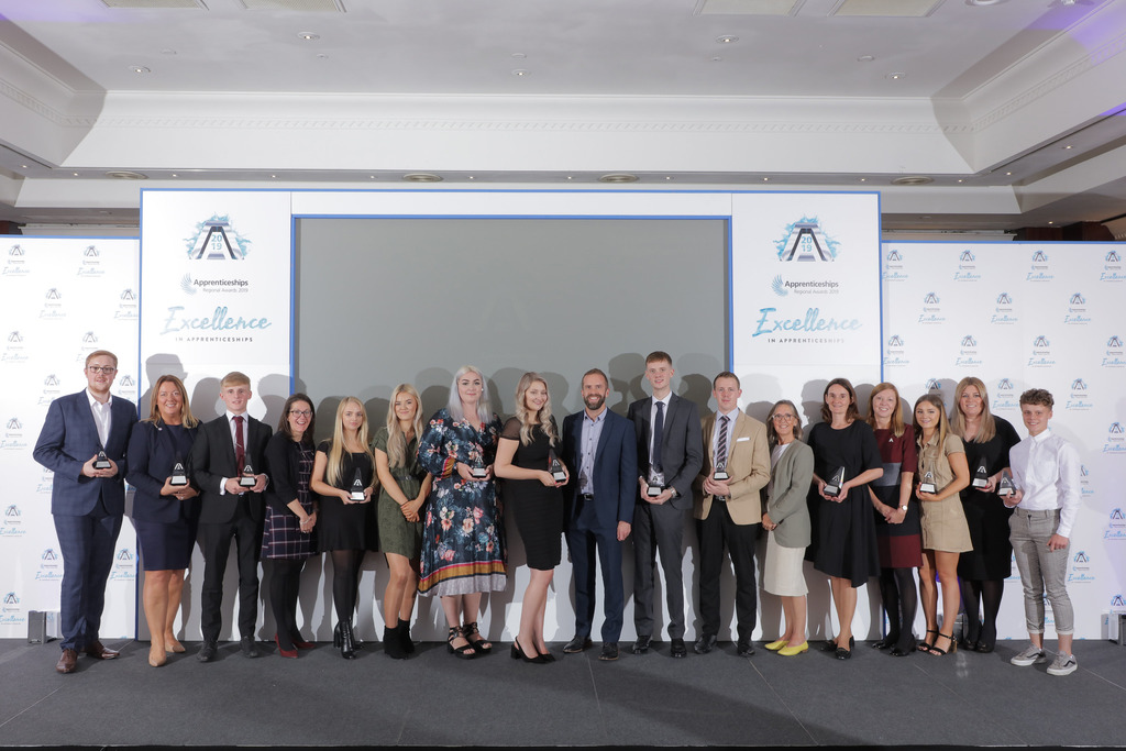 All the winners from the Yorkshire and Humber National Apprenticeship Awards