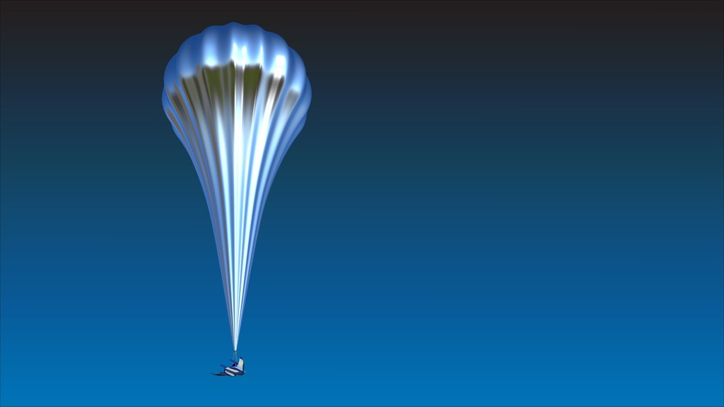 High altitude balloons will be used by the launching system to reach Low Earth Orbit.