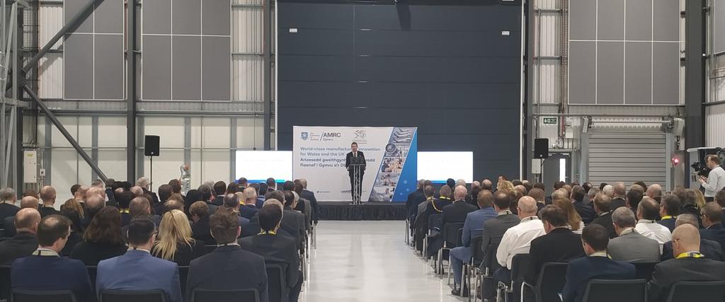 University of Sheffield VC Koen Lamberts speaking at the opening.
