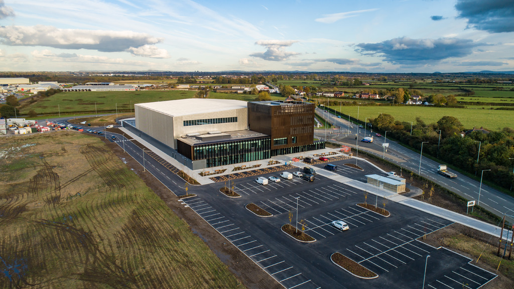 The flagship AMRC Cymru is open for business in North Wales.