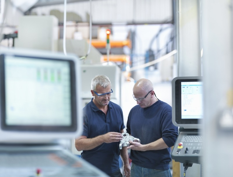 Data can can help manufacturers predict when maintenance is required to reduce downtime, for example, or respond to delays in the supply chain by altering production methods.