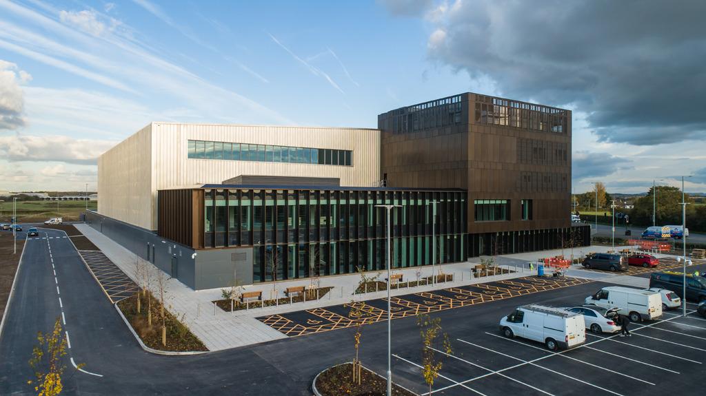 AMRC Cymru in Broughton, Wales.
