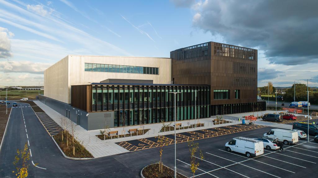 AMRC Cymru officially opened in November 2019.