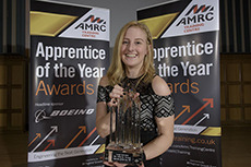 Apprentice of the Year Award winner, Leigh Wosdale of Foxwood Diesel