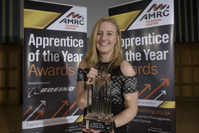 Apprentice of the Year Award winner, Leigh Worsdale of Foxwood Diesel